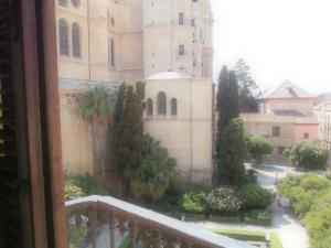 Vista al balcón de La Catedral de la Encarnación