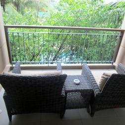 Balcony Bathing