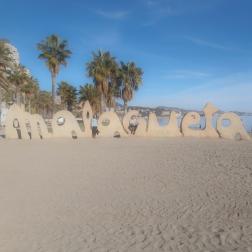 Playa de Malagueta, Spain