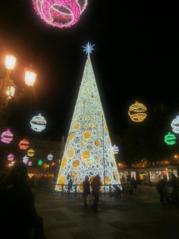 Feliz Navidad - Granada, Spain