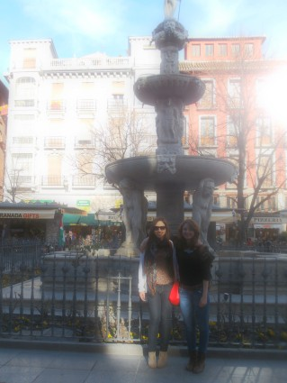 Town stroll with my Irish girl