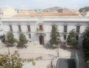 Balcony view of Plaza del Carmen