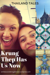 Krung Thep Has Us Now
