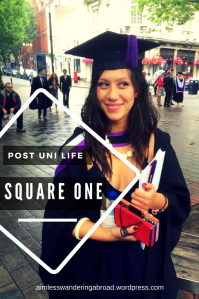 Square one_ The recent graduate, futile self pep talks and one very worn-out refresh button.